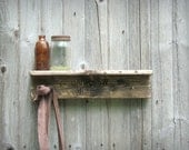 SALE barry sw shelf / / repurposed pallets / / hooks