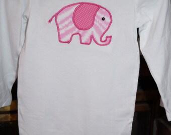 Pink Elephant Onesie