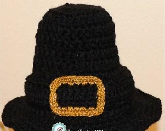Pilgrim Baby Hat