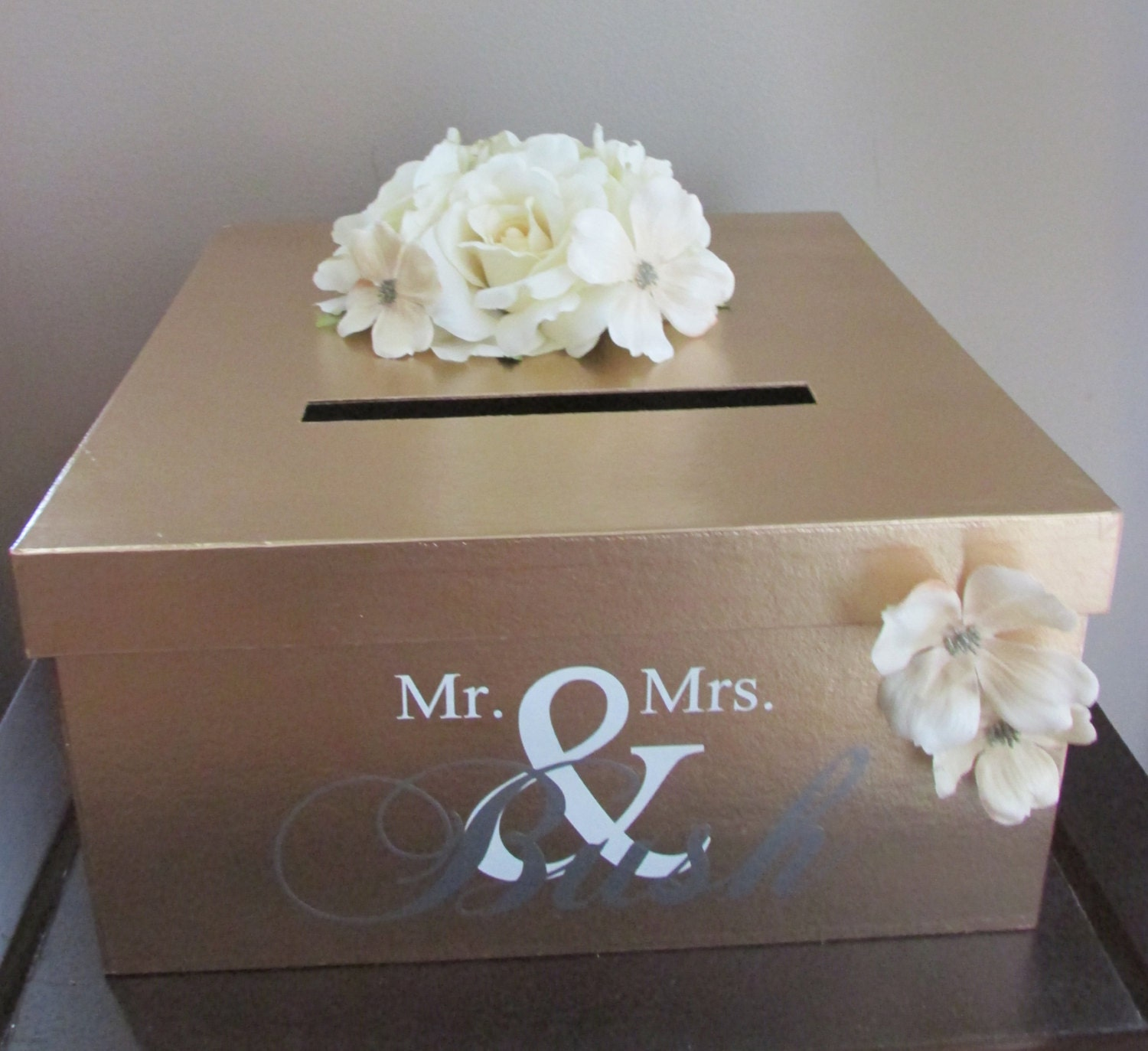 Wedding Gift Box Ideas : Request a custom order and have something made just for you.
