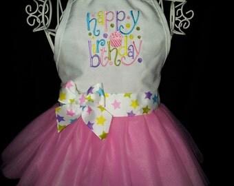 Happy Birthday Youth Apron