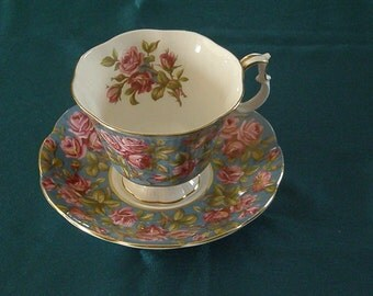 "Vintage Royal Albert, Merrie England Series,"" Harewood"" Cup and Saucer"