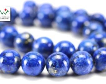 Lapis Lazuli,10MM Round Lapis,Natural Lapis, ETS1000