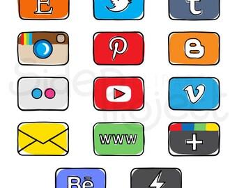14 facebook timeline tab images - App buttons - Social media