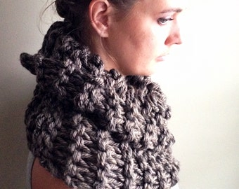 winter infinity cowl wide cowl fall infinity scarf outlander scarf Outlander Fashion Scarf Pattern