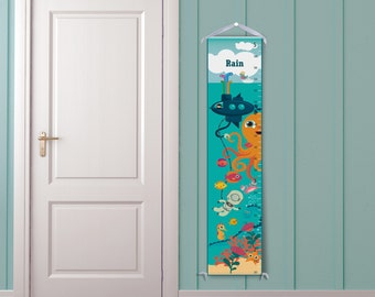 Under the Sea Personalized Children's Growth Chart