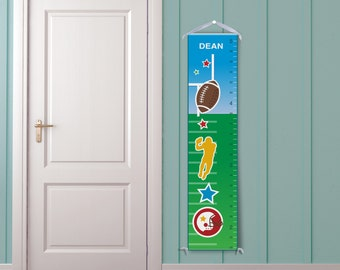 Football Growth Chart-Personalized
