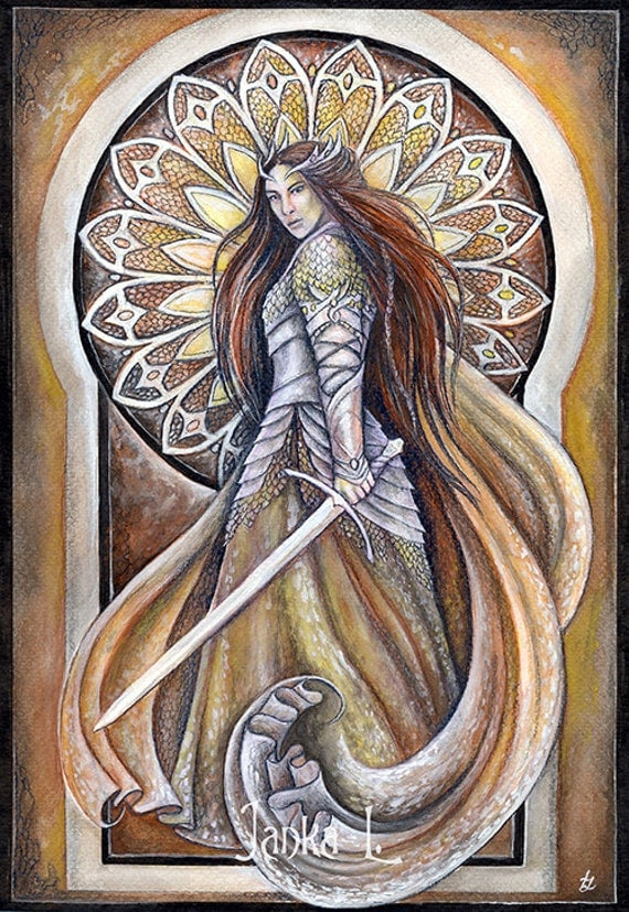 Original painting - The warrior queen