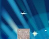"Swarovski Stars Dangle Earrings, Women's Birthday Gifts, ""Spiral Galaxy"" Chandelier Jewelry"