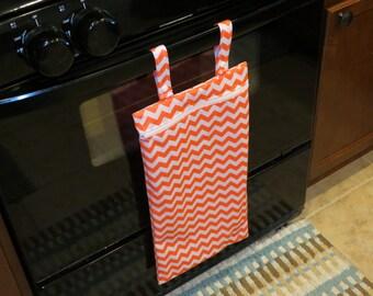 Large Kitchen Wet Bag, Hanging Wet Bag, Wetbag, Unpaper Towels, Reusable Towels, Kitchen Towels, Dish Towel, Reusable Sponge, Ecofriendly