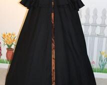 Adulte noir pleine longueur