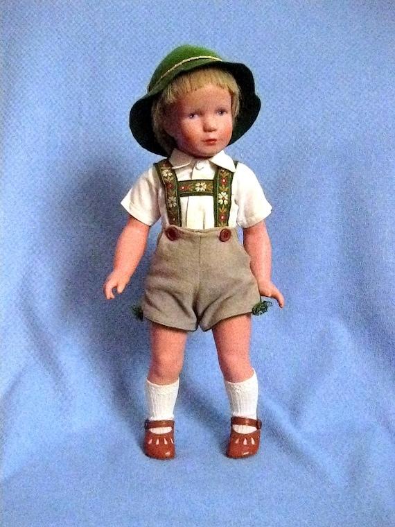 1950 S Kathe Kruse Bavarian Boy Doll