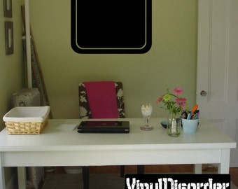 Frame Vinyl Wall Decal Or Car Sticker - Mv011ET