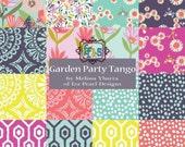 GARDEN Party Tango Collection Jelly Roll 40 2.5 inch strips PRECUT