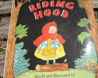 Red Riding Hood retold and illustrated by James Marshall published 1987 with dust cover