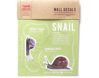 Snail Wall Decals (Garden & Grove)