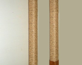 Replacement Sisal Rope Scratching Post Cartridge from The Vertical Cat