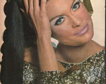 Fashion photo/illustration, Vogue or Harpers Bazaar, 9x12 in - fash467