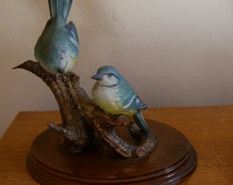 Cute Whimsical Bird Figurine