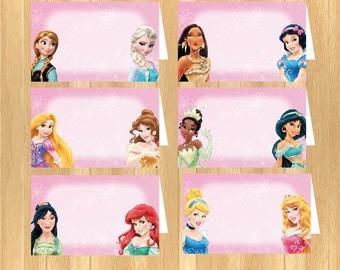 INSTANT DOWNLOAD - Disney Princess Food Tent