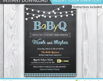 bbq baby shower invitation bbq baby shower invite baby shower bbq invitation couples