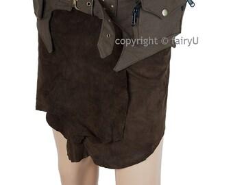 Fabric (padded cotton) festival pocket belt - Deity (0008)