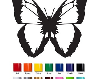 Butterfly Decal #06 | Vinyl Car Window Decal | Wall Decal