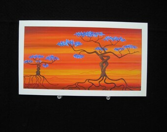 Binding Roots - Fine Art Print on Watercolour Paper