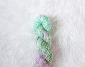 watermelon candy - superwash merino worsted weight yarn
