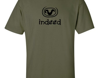 Stargate SG1 inspired 'Indeed' Teal'c t-shirt