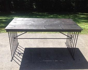 Steel Standing Table