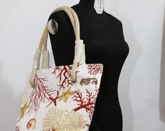 Sea Corals Tote Bag