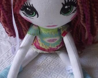 Handmade Cloth Doll Anna