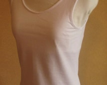 Australian made singlet, made from Australian made combed cotton jersey.