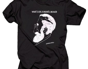What's On Man's Mind Sigmund Freud T-Shirt Geeky Tee Shirt