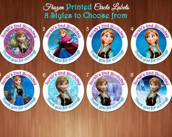 Printed Disney Frozen Princess Anna Snow Queen Elsa