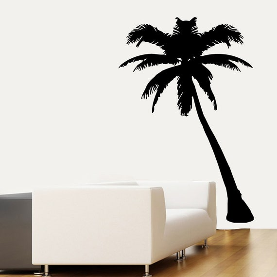 Wall decal beach