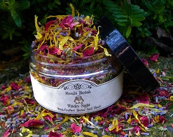 Witch's Sight Herbal Spell Blend  - Divination, Intuition, Psychic Visions, Wisdom, Enlightenment, Altar Incense, Floor Sweep, Candle Magick