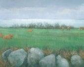 Tresco Cows, Original Painting