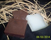 Men's Soap....Dirt Soap  4 ounces of soap...Christmas Gift....Stocking Gift......Gift for Dad.....Hunter's Soap