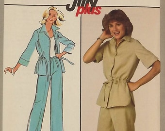 Vintage 70's Sewing Pattern, Summer Shorts and Pants, Size 10