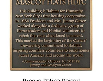 "Historical Marker Uncomplicated - Footlite font 18""W x 25""H by Atlas Signs and Plaques"