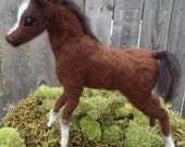 Needle Felted Baby Horse Foal