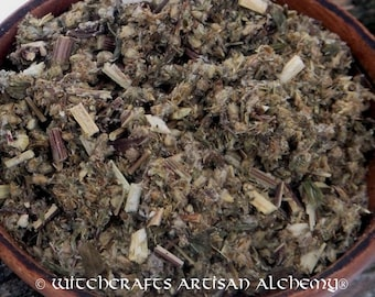 MUGWORT (Artemisia vulgaris) - Certified Organic, Earth Kosher Witches Herb for Rituals Involving Psychic Awareness, Divination, Protection