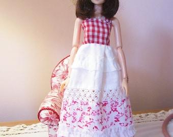 Sweet Sundress for Momoko Doll...Hat Included