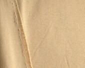 Sand Tan, 1980s Vintage, Wide Interlock Knit Fabric, Lightweight Cotton Polyester, half yard, B30