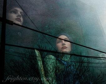 Mannequin Art, Window Display, Teal Art, Brooklyn Photography, New York Photography, Texture Art