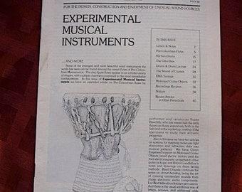 Experimental Musical Instruments 1992 Sound Art Design Construction Unusual Sound Sources Motorized Guitar DNA Objects Negativland Drums