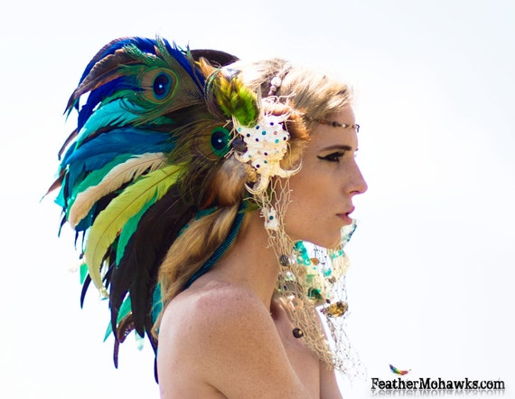 "Mermaid Shell Headdress  - ""La Sirena"""