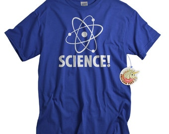 Science Tshirt Atom Shirt for Men Women and Teens Quantum Physics T shirt for Him or Her